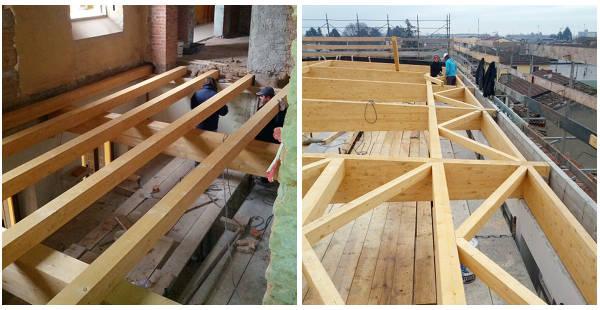 Lavori pavimento e tetto