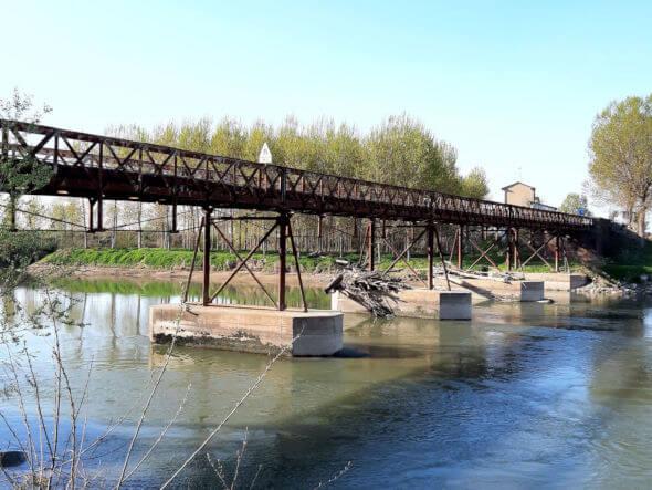 Ponte di Calvatone sul fiume Oglio
