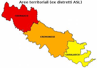 Circondari della Provincia di Cremona